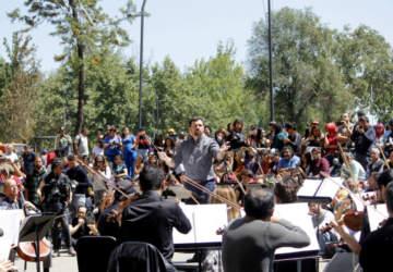 Orquesta Sinfónica Nacional vuelve a la calle: tocará El derecho de vivir en Paz en el Parque Bustamante