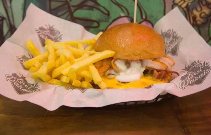 Local Paraíso: Las nuevas hamburguesas full trópico de calle Merced