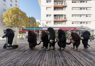 Santiago a Mil 2020: Estos son los traviesos topos que andan recorriendo la ciudad
