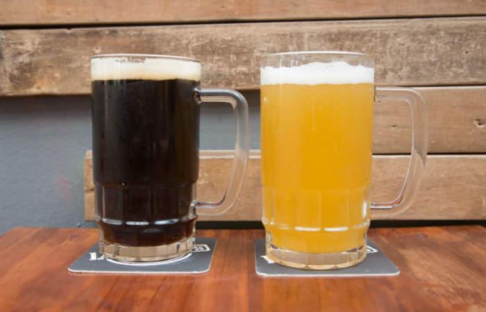 Lagerhaus, la nueva cervecería artesanal en Viña que se luce con 38 salidas de barril