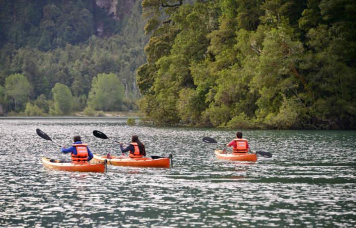 Panoramas golosos y al aire libre en las cercanías del Lago Ranco