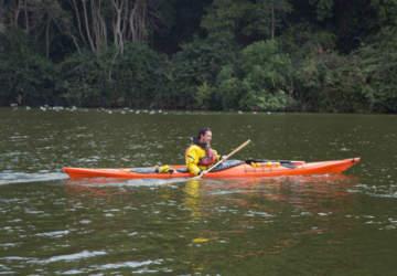 Las entretenidas clases de kayak y skate que se harán en el lindo Parque Tricao