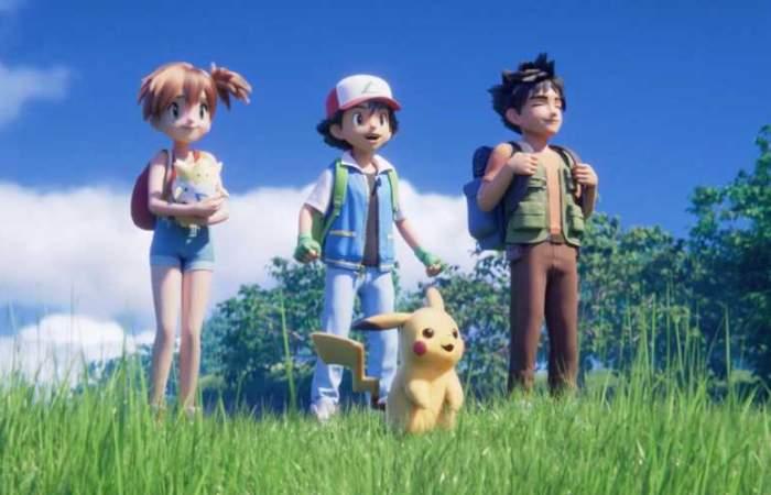 ¡Regresaron! vuelven Ash y sus amigos de la mano de Mewtwo con un remake de la primera película