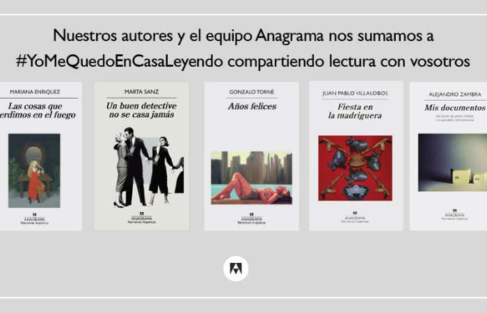 Editorial Anagrama tendrá e-books gratis para que disfrutes durante la cuarentena