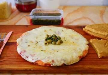 Receta de pizza fácil, rápida y al estilo de La Argentina Pizzería
