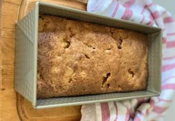 De avena y manzana: una receta de queque ideal para hacer en casa