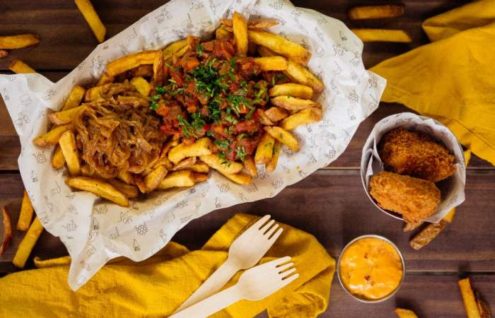 Fritkot, el delivery de papas fritas crujientes, 100% artesanales y al estilo belga