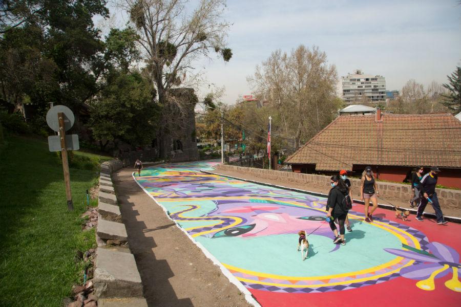Murales del Parque Metropolitano
