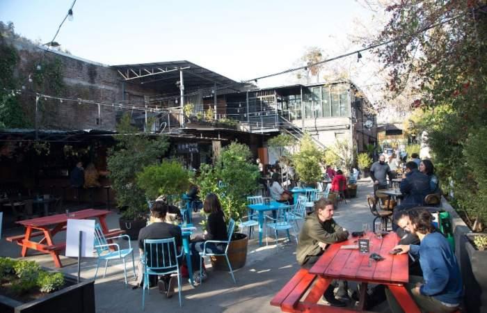 Reabre Jardín Mallinkrodt, el ondero patio interior del barrio Bellavista