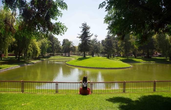 El tranquilo Parque Santa Mónica embellece Recoleta con cinco hectáreas verdes
