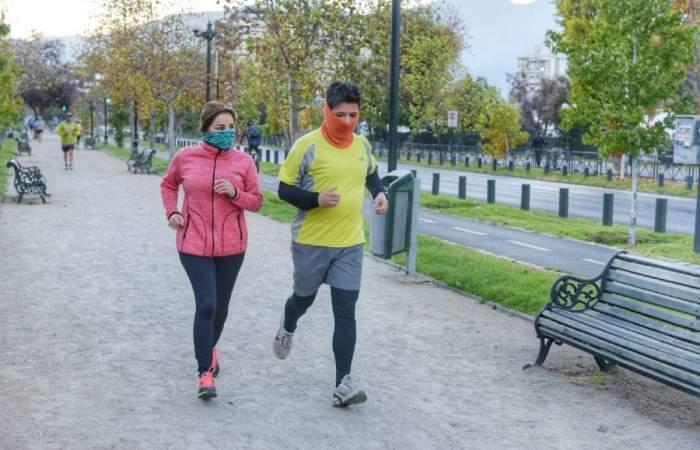 Las avenidas Pocuro y Ricardo Lyon cierran para el deporte los fines de semana para hacer deportes