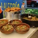 Campeonato mundial del pebre en La Vega Central