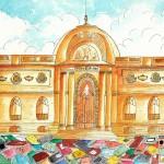 Trueque de 100.000 libros en Bellas Artes