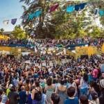 Una fiesta en el Parque Juan XXIII