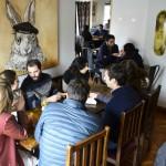 Cena de colmado en barrio bellavista