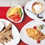 Desayuno con vista al Forestal