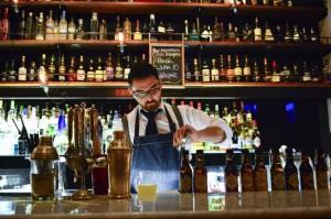 Un bar de lujo en el Patio Bellavista