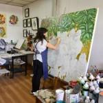 De visita por los talleres de artistas