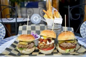 Unas hamburguesas de lujo