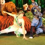 El Libro de la Selva llega con espectáculo a Las Condes