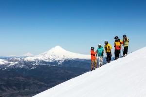 Malalcahuello, un pueblo de nieve a la moda