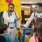 Viaje al espacio en un mall