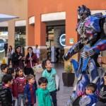 Jugar gratis con superhéroes en malls