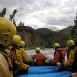 Rafting por el río Maipo