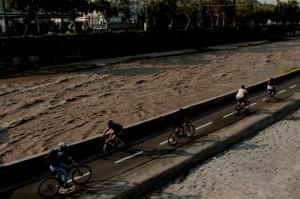 Una ruta para pedalear por el Mapocho