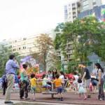 Concierto para niños a una plaza de Bolsillo