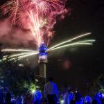 Dónde ver fuegos artificiales para celebrar el Año Nuevo