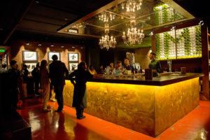 La barra de Millesime, el nuevo club privado