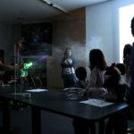 Jugar con luz en el Planetario de Santiago