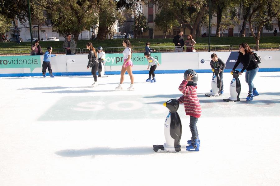 Pista de patinaje en hielo Providencia