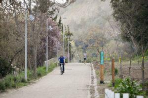 Recorrer el nuevo sendero del Parque Metropolitano