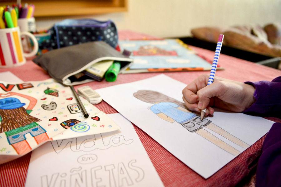 Ilustra tu cómic en Biblioteca Viva Egaña