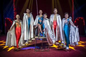 Una tarde con el increíble circo The Flying Farfans