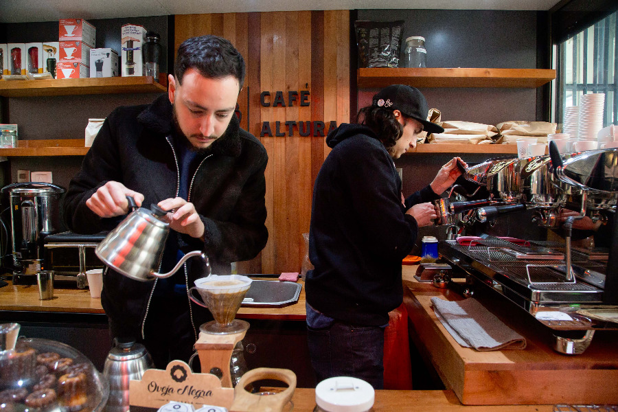 Café Altura (Santiago centro)