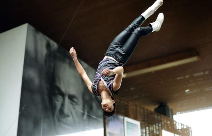 Celebrar el Día Nacional del Circo Chileno con payasos y acrobacias