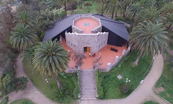 Cerro San Cristóbal: Una fonda a más de 600 metros de altura