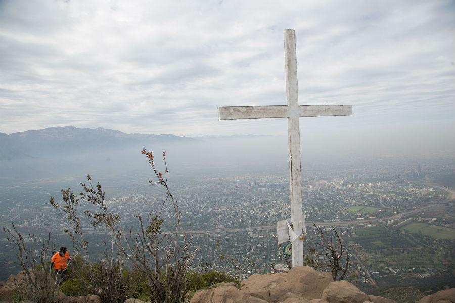 Cerro Manquehue (entrada Los Trapenses)