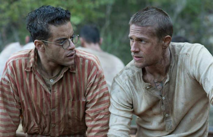 Charlie Hunnam y Rami Malek protagonizan Papillon: La Gran Fuga