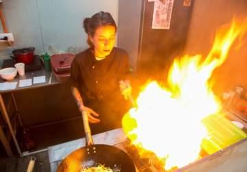 Wok inc Food: los platos al wok que la rompen en Franklin