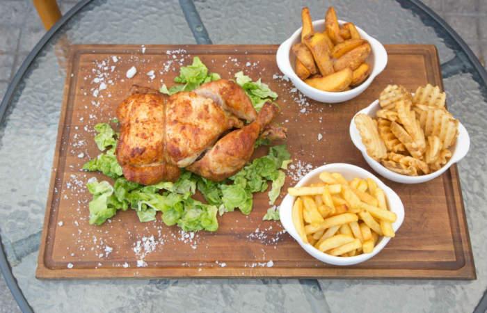 Pollo Taquilla: el pollo asado a las brasas más tentador de Providencia