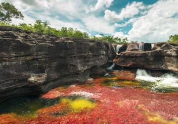 mejores destinos de América Río Caño Cristales Colombia