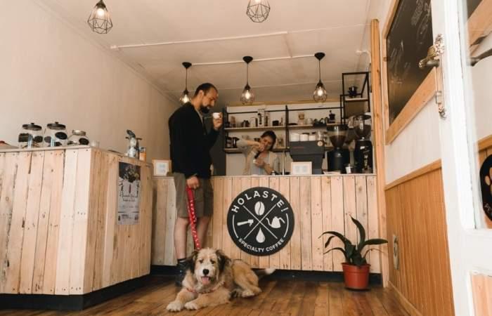 Holaste!: Un café de clase mundial en el centro de Puerto Natales