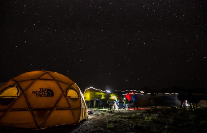 Un Año Nuevo diferente: Acampando bajo las estrellas en pleno cerro El Plomo