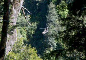 Los 3 circuitos de canopy más adrenalínicos de Chile