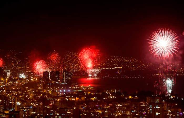 Todo sobre el show de fuegos artificiales en Valparaíso para recibir el 2019