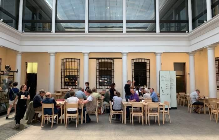 Nuevo café Precolombino: Almuerzo gourmet en el barrio de tribunales